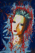 British Portraits Mixed Media Framed Prints - Make no Compromise Framed Print by James Flynn