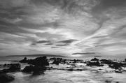 Black And White Photography - Makena Beach Black and White by Quincy Dein - Printscapes