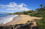 Chang Prints - Makena, Changs Beach Print by Ron Dahlquist - Printscapes