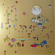 Murakami Art - Making A U Turn by Takashi Murakami