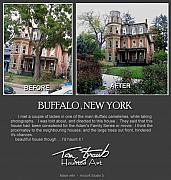 New York Digital Art Metal Prints - Making Buffalo New York Metal Print by Tom Straub
