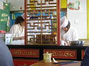 Alfred Ng - making dumplings