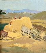 Ylli Haruni - Making Hay Stacks