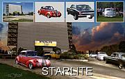 Pick Up Digital Art Posters - Making the Starlite Poster by Tom Straub