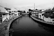 City Life Prints - Malacca River In Malacca City Print by Megan Ahrens