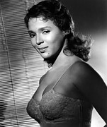 1960 Movies Prints - Malaga, Dorothy Dandridge, 1960 Print by Everett