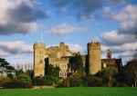 Martina Fagan Prints - Malahide Castle Print by Martina Fagan