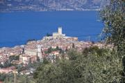 Beach Cruiser Photos - Malcesine in Lago di Garda by Andre Goncalves