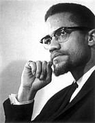 Black Power Posters - Malcolm X (1925-1965) Poster by Granger