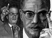 Malcolm X Print by Gil Fong