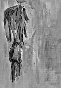 Nude Man Painting Prints - Male Nude 3 Print by Julie Lueders 