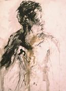 Male Portrait 3 Print by Iris Gill