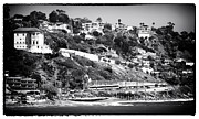 School Houses Framed Prints - Malibu Living Framed Print by John Rizzuto