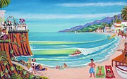 Malibu Painting Posters - Malibu Shoes Optional Poster by Frank Strasser