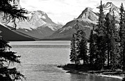 Maligne Lake Framed Prints - Maligne Lake Framed Print by RicardMN Photography