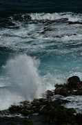 North Shore Prints - Maliko Point Maui Hawaii Print by Sharon Mau