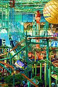 Coaster Prints - Mall Of America Print by Rich Beer