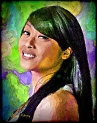 Filipino Prints - Mallory Print by Chuck Staley