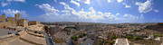 Malta Panoramic View Of Valletta  Print by Guy Viner