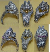 Dogs Jewelry - Maltese wrap ring by Michelle Robison