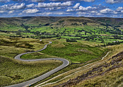 Castleton Prints - Mam Tor To Edale Print by MJB Photography
