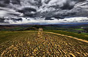 Tor Framed Prints - Mam Tor View Framed Print by Darren Burroughs