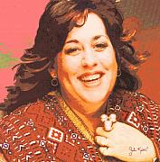 Keaton Digital Art - Mama Cass Elliot by John Keaton