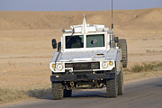 Carrier Framed Prints - Mamba Armored Personnel Carrier Framed Print by Terry Moore