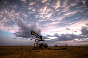 Oil Pump Photos - Mammatus Oil by Thomas Zimmerman