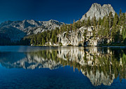 Mammoth Lakes Art - Mammoth Lakes Reflections by Greg Nyquist