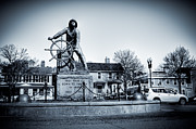 Gloucester Art - Man at the Wheel by David Hahn