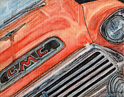 1957 Ford Custom Prints - Man Cave #1 Print by Jason McKeel