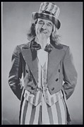 65-69 Years Posters - Man Dressed As Uncle Sam, 1950s Portrait Poster by Archive Holdings Inc.