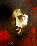 Jesus Mixed Media Framed Prints - Man From Nazareth Framed Print by Seth Weaver