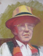 Quite Originals - Man in a Brim Hat by Pamela Preciado