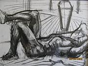 Chiaroscuro Originals - Man in a reclining Pose by Shant Beudjekian