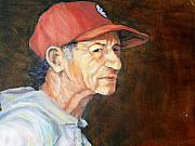 Ruth Mabee - Man in Red Cap