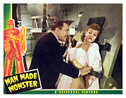 Horror Movies Photos - Man Made Monster, Lionel Atwill, Anne by Everett