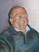 Glasses Pastels - Man of the village by Melanie Bourne