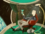 John Lyes - Man Sitting in Chair...