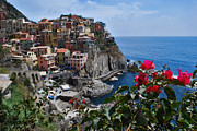 Jeka World Photography Posters - Manarola Itlay Poster by Jeka World Photography