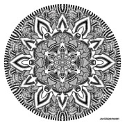 Jim Gogarty - Mandala 10 drawing