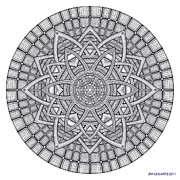 Jim Gogarty - Mandala 19 drawing