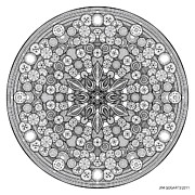 Jim Gogarty - Mandala 26 drawing