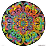 Jim Gogarty - Mandala 31 drawing...