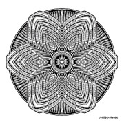 Jim Gogarty - Mandala 39 drawing