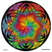 Jim Gogarty - Mandala 40 drawing...