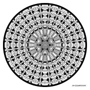 Jim Gogarty - Mandala 41 drawing