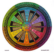 Jim Gogarty - Mandala 43 drawing...