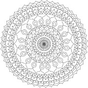 Ornate Drawings - Mandala 5 by The Mandala Company The Mandala Company